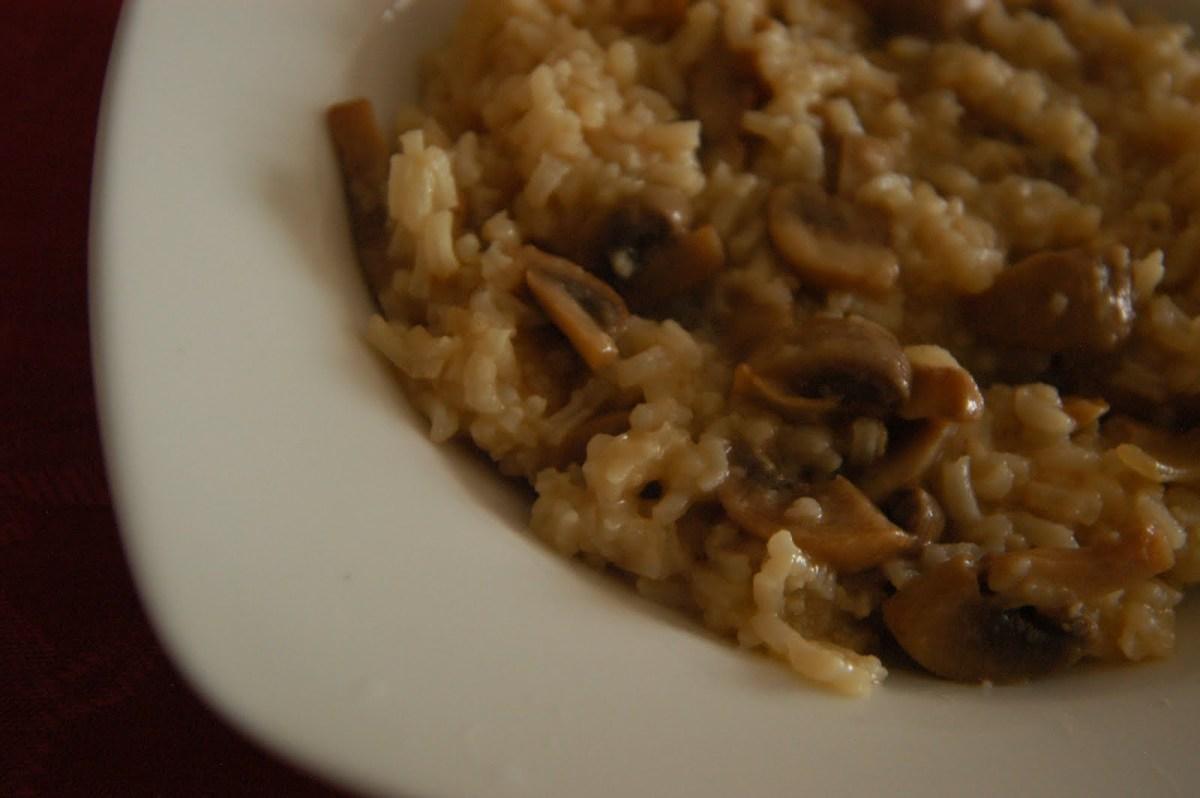 Misterioso arroz con hongos delbosque
