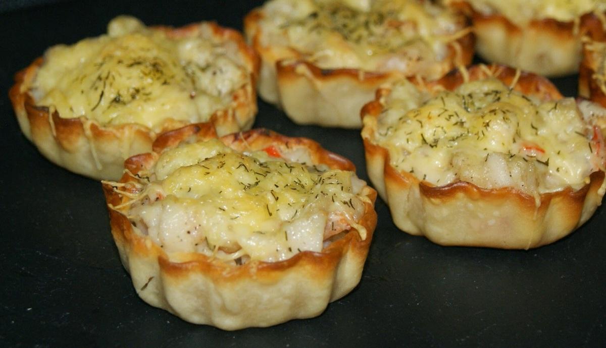 Tartitas de Pescado escondido. Ideales para el menú de la SemanaSanta
