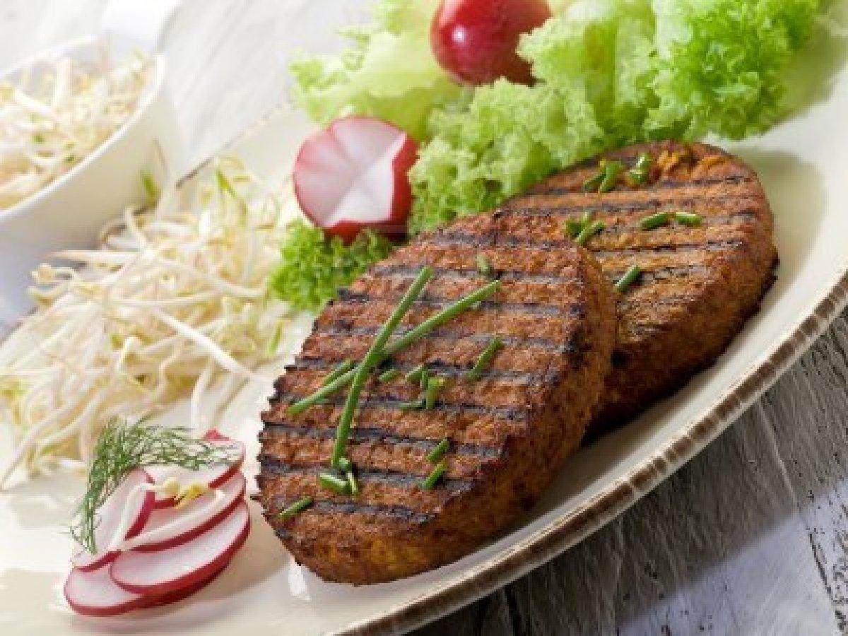 La  »Hamburguesa Vegetariana«