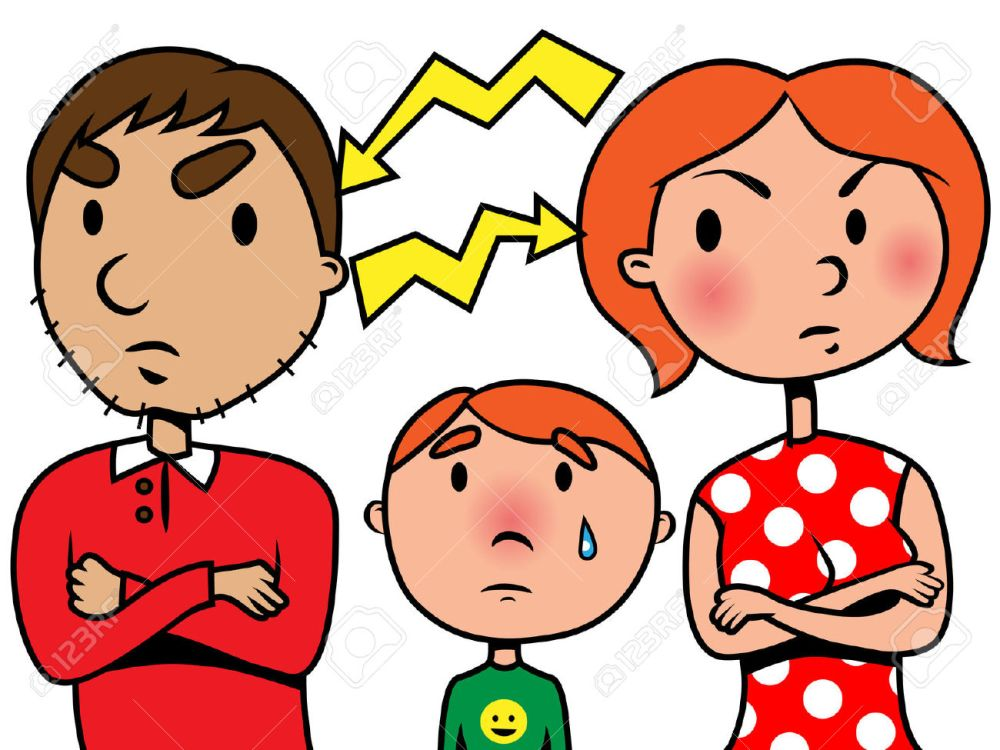 Madres y niños pelea