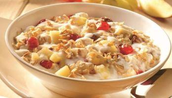Tazas-de-fruta-de-yogur-y-miel